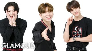 Monsta X Acts Out 19 Emotions | Glamour