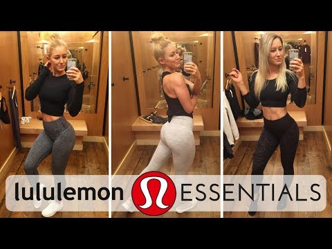 Lululemon Employee Try-On   Top 8 Must-Have Items EXPLAINED!