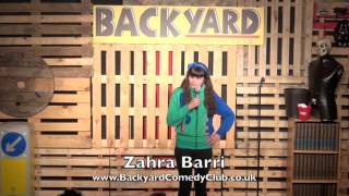 Comedian Zahra Barri talks about her period