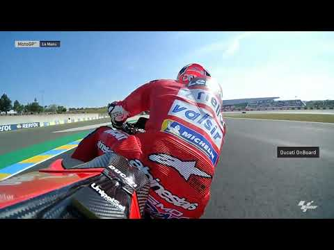 Ducati Team OnBoard: SHARK Helmets Grand Prix de France
