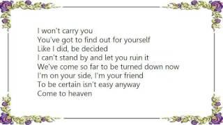 Basia - Come to Heaven Lyrics