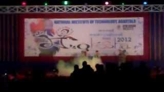 preview picture of video 'NIT Agartala - Moksha 2012 - The Diverse Culture of India - 6 - The Bihari Culture - Bhojpuri'