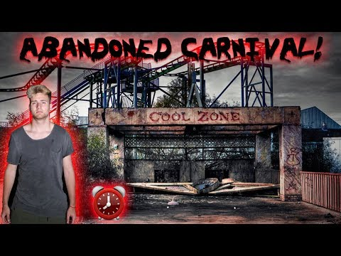 ABANDONED Amusement park: SLIDING DOWN GIANT SLIDE