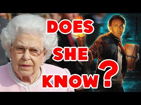 """Does the Queen Know About """"National Treasure 2""""? 