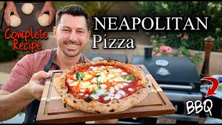How to BBQ Perfect Pizza Neapolitan in The Grill / Full DOUGH Recipe