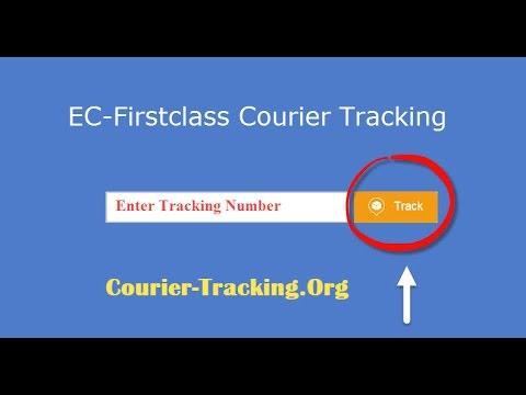 EC Firstclass Tracking | EC Firstclass Courier Tracking Guide