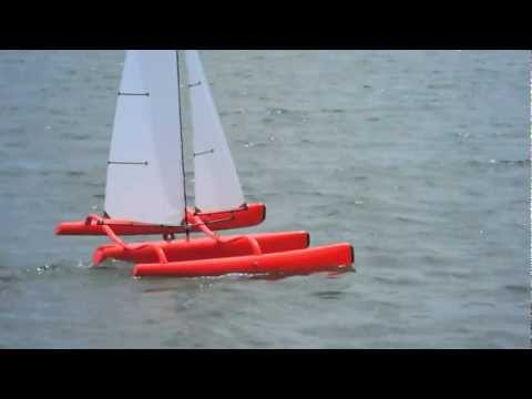 FireDragon on Foils - Mini40/F-48 Trimaran
