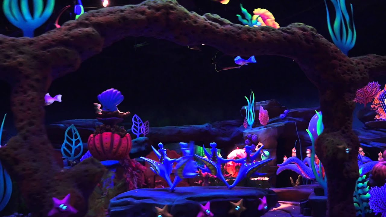 Under the Sea - Journey of the Little Mermaid 2015 refurbishment