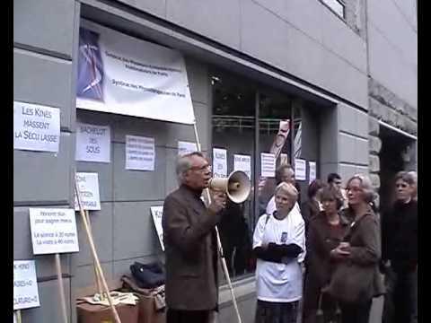 Kinés : le jeudi de la colère à Paris