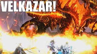 VELKAZAR! King's Raid - Fighting The New Guild Conquest + Tips & Team Comp!