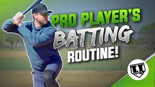 4 Baseball Hitting Drills THAT WILL Have Your Hitters CRUSHING Baseballs! (Pro Hitting Routine)