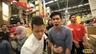 Flash mob Malaysia IKEA | Ohsempella & Friends
