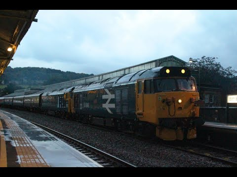 50049 & 50007 at Worle and Bath Spa with 'The Torbay & Dart …