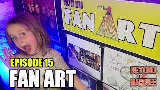 Lindalees Doctor Who Fan Art Review - Ep.15