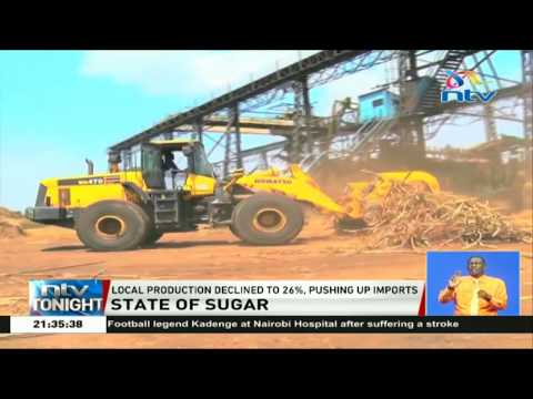 Local sugar production declined to 26%, pushing up imports