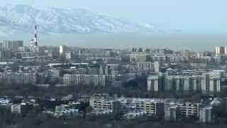 Как Алматы окутывает смог