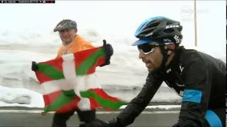 preview picture of video 'Giro d'Italia Ponte di Legno PASSO GAVIA part3'