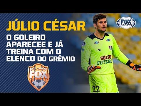 f793f60392 Goleiro é apresentado no Grêmio já treina com o elenco