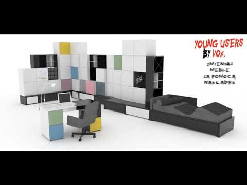 Коллекция детской мебели Young Users