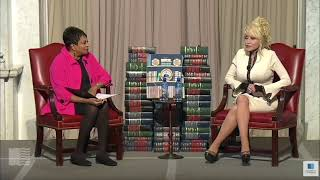 Dolly Parton presents 100 millionth Imagination Library book