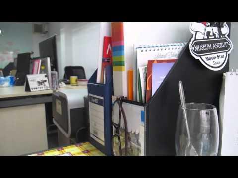 suasana kantor produksi ATV
