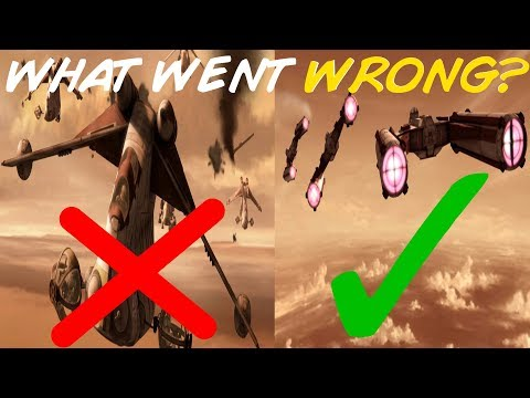 Everything Wrong with the Second Battle of Geonosis