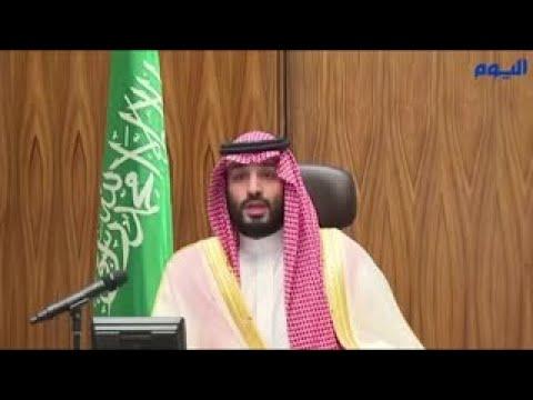 ولي العهد يعايد منسوبي وزارة الدفاع بمناسبة عيد الفطر المبارك