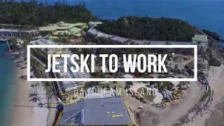 GoPro 7   Daydream Island   Jet Ski To Work & Home On Sunset 2019