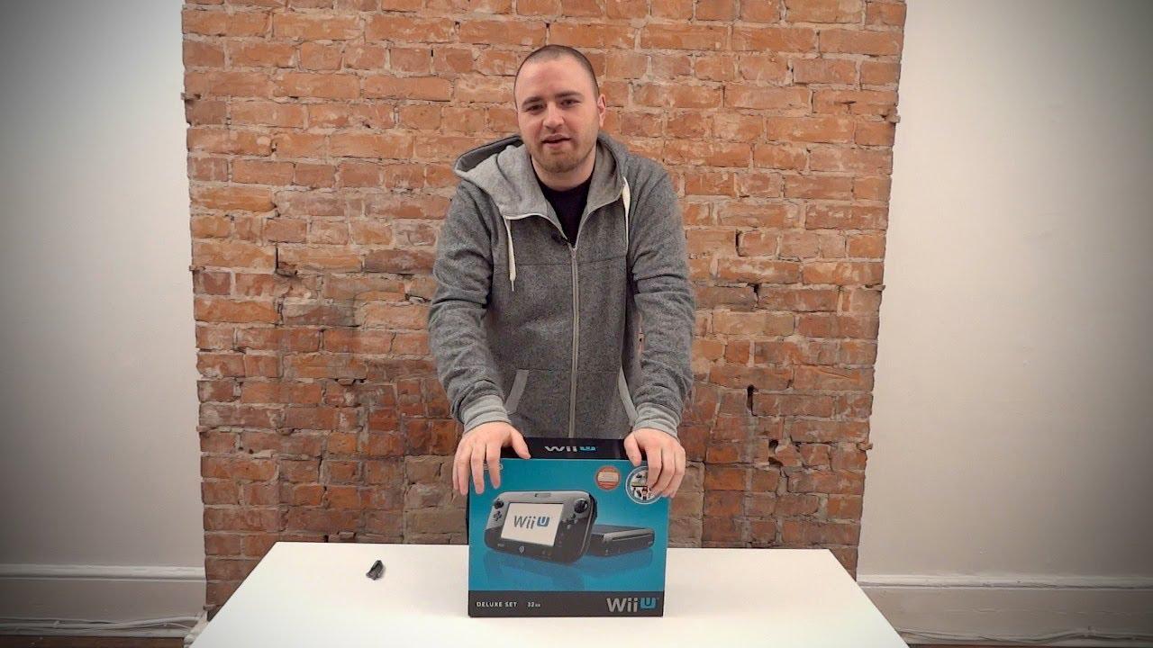 Nintendo Wii U Deluxe Set Unboxing thumbnail