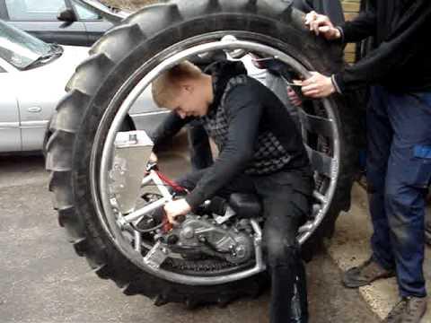 Monowheel 單輪汽車