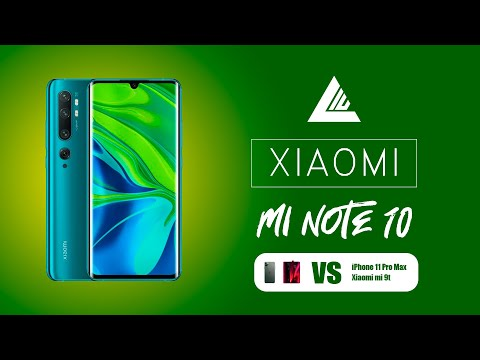 Xiaomi mi note 10: 😱 Batería y cámaras por un tubo!