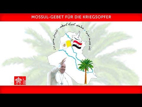 Wortlaut: Gebet des Papstes für Kriegsopfer im Irak