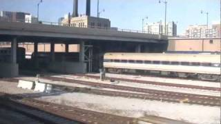Amtrak p37011- Pere Marquette (August 11, 2011) Departing Chicago Union Station