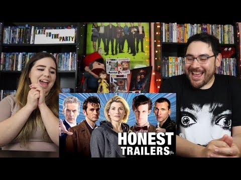 Doctor Who HONEST TRAILERS - Modern Trailer Reaction / Review