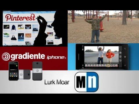 Lurk Moar 07 02 13 - Pinterest sube de valor, un iPhone brasileño, Suspenden a estudiante, Blink