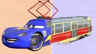 Мультик игра про Полицейские машины Пожарные машины и Скорую помощь!
