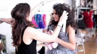 "Angelica Salem Singing ""Knock Off"" at Sherri Hill Dress Showroom"