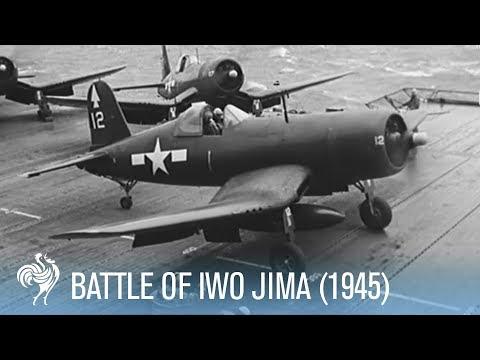 Fierce Fighting Footage from the Battle of Iwo Jima (1945) | War Archives