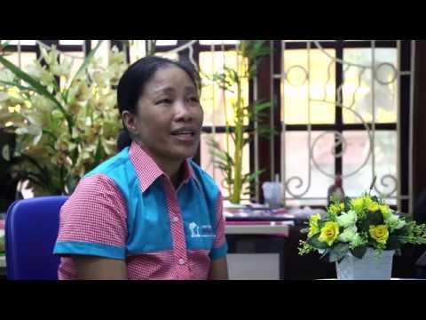 Cô Đinh Thị Liên chia sẻ về công việc chăm bé qua Hồng Doan