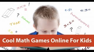 Cool Math Games Online For Kids