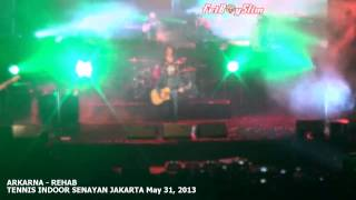 ARKARNA Opening by SEXY DJ ADELE - REHAB live in Jakarta Indonesia 2013