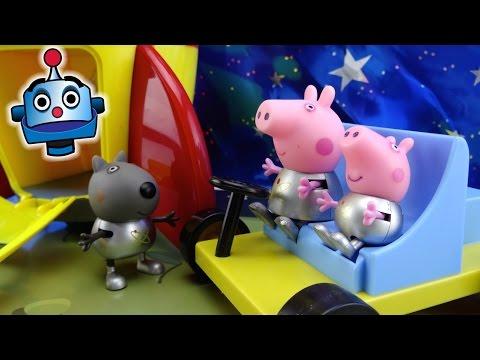 Peppa Pig Cohete Espacial Peppa Pig's Space Explorer Set - Juguetes de Peppa Pig