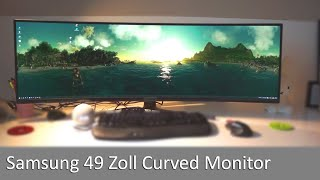 Im Gaming & Business-TEST: Samsung 49 Zoll Curved Monitor 120hz 5120 x 1440 Pixel 32:9 C49RG94SSU