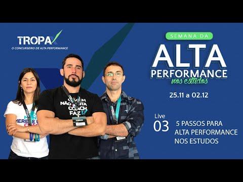 Tropa X | 5 passos para alta performance nos estudos