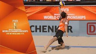 Netherlands-Brazil Men's Semifinal FIVB Beach Volleyball World Championship