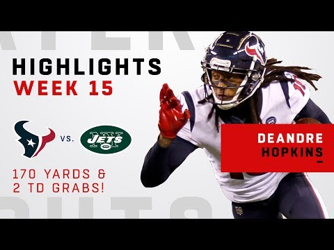 DeAndre Hopkins' Huge Game w/ 10 Grabs, 170 Yards & 2 TDs!