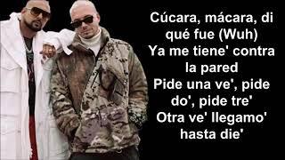 Sean Paul, J Balvin    Contra La Pared Letra Lyrics