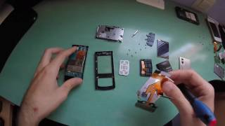 Nokia 6500 slide - disassembly - screen replace