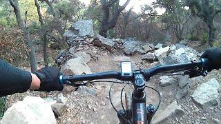 Lower Romero Canyon DH