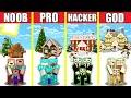 Minecraft Battle CHRISTMAS HOUSE BUILD